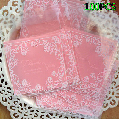 100pcs/Lot Bread Cookie Bakery Biscuit Candy Christmas Gift Packaging Bags