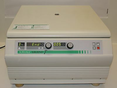 Sorvall Legend T Large Capacity Centrifuge & High Plate Rotor