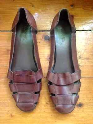 Soft Vintage Leather Huaraches Womens Size 10