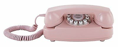 Princess Phone Crosley Pink Cr59 Pi Push 1950 Button Technology Rotary Corded