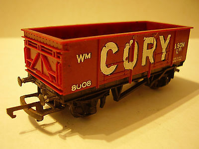 OO Triang CORY 4 Wheel Open Wagon Brown (2 of 3)