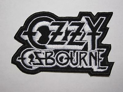 OZZY OSBOURNE embroidered NEW patch
