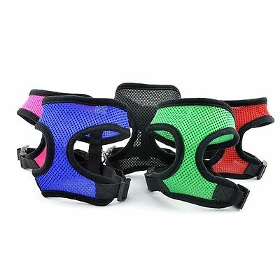Breathable Safety Dog Mesh Cat Puppy Strap Control Cloth Vest Collar Braces