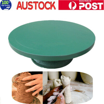 Turntable Metal Banding Wheel 20cm Pottery Clay Modelling Sculpture Turntable