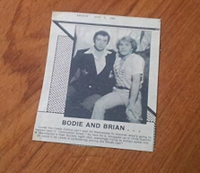 Lewis Collins Professional Christopher Quentin Brian Tilsey Manchester Nightclub