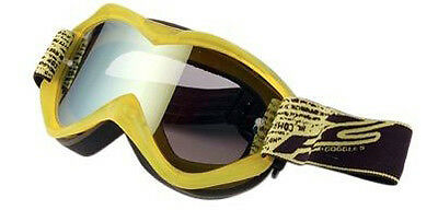 Lunettes / Masque Competition Cross Enduro Quad - Ecran Irridium Tear Off- Jaune