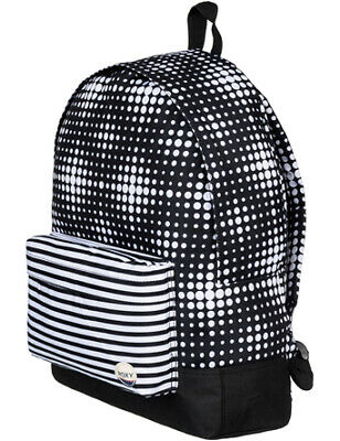 Roxy Sugar Baby Backpack in Anthracite Opticity