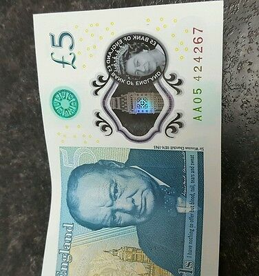 New Five Pound Note (£5)