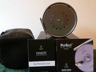 "Hardy Perfect 4&1/4"" Wide Spool Fly Reel"