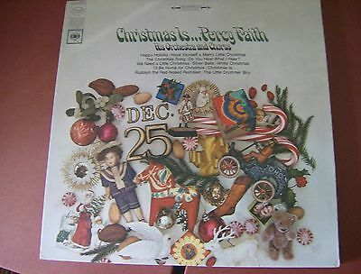 Christmas Is ... Percy Faith, His Orchestra And Chorus: Vinyl Lp: Columbia