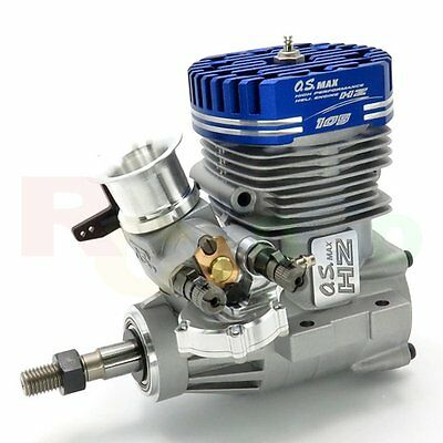 O.S. MAX-105HZ-R DSR Glow/Nitro RC Helicopter Engine # OS18750