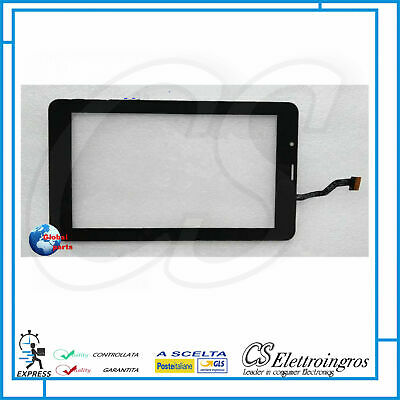 Ricambio Vetro Vetrino Touch Screen bianco Tablet 7 KN MOBILE 7N3