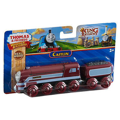 Fisher Price Thomas & Friends Wooden Railway Caitlin Train Brand New Y5856