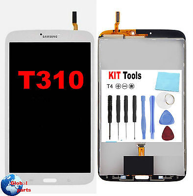 Touch screen + Display Lcd assemblato Samsung SM T310 Galaxy Tab 3 8.0 +Kit To