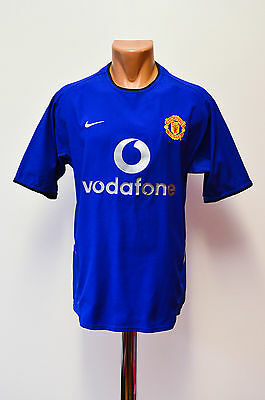 Size S Manchester United England 2002/2003 Third Football Shirt Jersey Nike