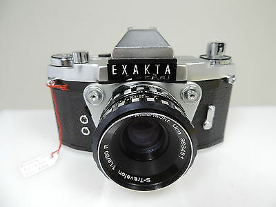 ✮ Ihagee BERLIN-WEST Exakta Real mit S-Travelon 1.8 50mm R // vom Händler! (23)