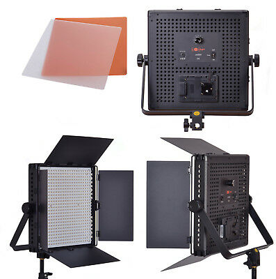 LED Panel Photography & Video Portable Lighting - 600LED 5600k CRI>93 - LuxLight