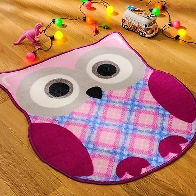Matrix Kiddy Ollie Owl Rug 80cm X 90cm