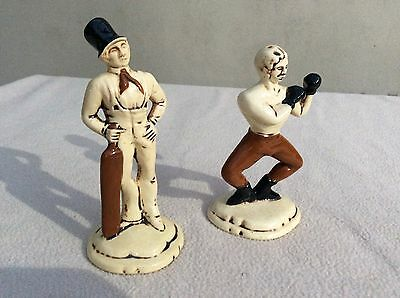 Dunhill porcelaine Victorian Era Sports figurines