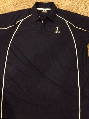 Under Armour Men's XL Golf Shirt Blue