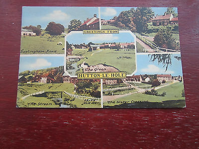 Hutton Le Hole  by Frith old postcard