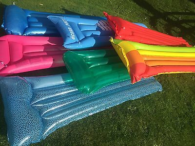7x Inflatable Lilos/ Pool Floats/ Loungers