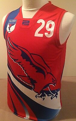 WAFL West Perth Falcons Football Jumper Guernsey Size Men's M In Vgc