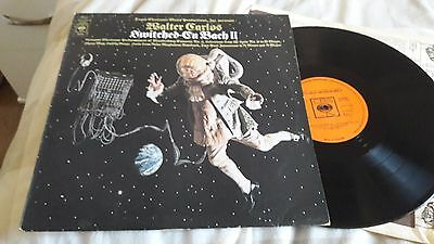 Switched-On Bach II (UK 1973) Walter Carlos ex ex i will post 2 LPs for price 1