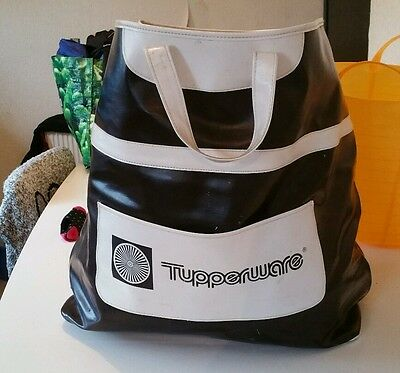 Retro tupperware consultant bag RARE