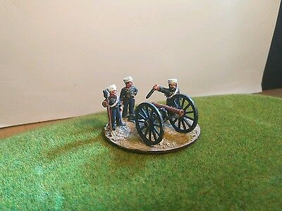 28mm Wargames Foundry Indian Mutiny British Artillery 6pdr Metal Figures