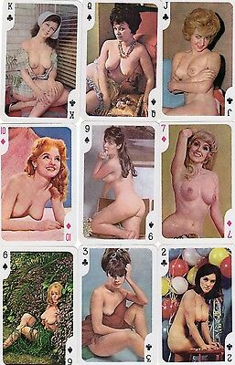 """PACK of RARE VINTAGE """"Lovely Ladies - Dainty (Superb Cards)"""" Playing Cards"""