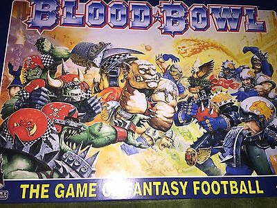 Warhammer Bloodbowl Box Set In Great Condition Complete