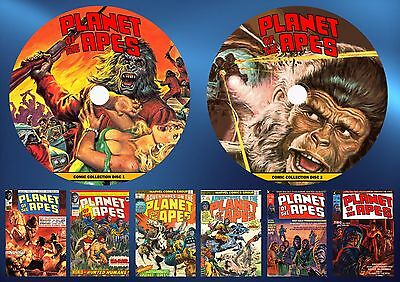 Planet Of The Apes Comic Collection On Two Printed Dvd Rom's
