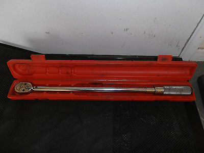 Snap-on 1/2Drive Micrometer Torque Wrench