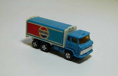 "VINTAGE RARE Promotional metal toy truck model PEPSI COLA 70""S"