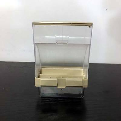 External Bird Seed Gravity Feeder Hopper For Cage Fronts