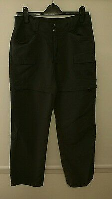 North face walking trousers, size 8