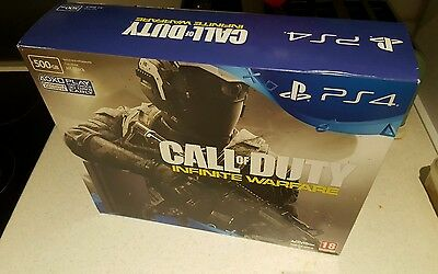 New PS4 slim 500GB COD bundle BOX & PACKAGING ONLY