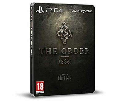 The Order 1886 Limited Edition Sony PS4 Game New and Sealed