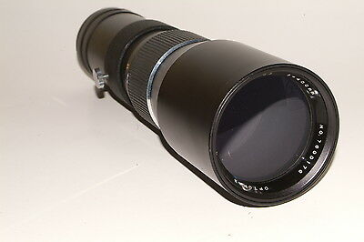 M42 fit Optomax  f6.3 400mm prime lens