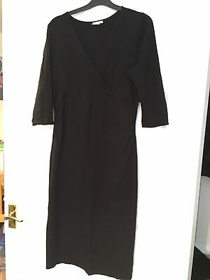 Blooming Marvellous Maternity Smart Black Dress Size 12