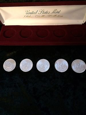 US Mint Silver Dollar Collection A Beautiful Morgen Silver Dollar Set
