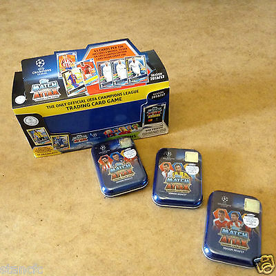 Match Attax Uefa Champions League 2016/17 Trading Card Mini Tin Brand New Sealed