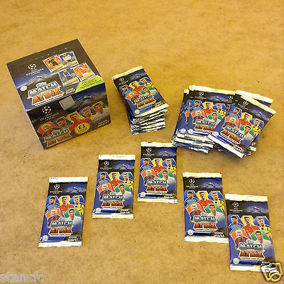 Match Attax Uefa Champions League 2016/17 Trading Cards Brand New Sealed Packets