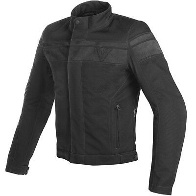 Dainese Motorbike Waterproof Blackjack D-Dry Jacket - Black / Anthracite