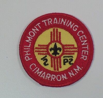 BSA 1970's Philmont Scout Ranch Training Center Pocket Patch FREE SHIPPING