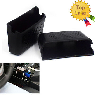 CAR PHONE CHARGING Hole Holder Pocket Storage Large Box Container