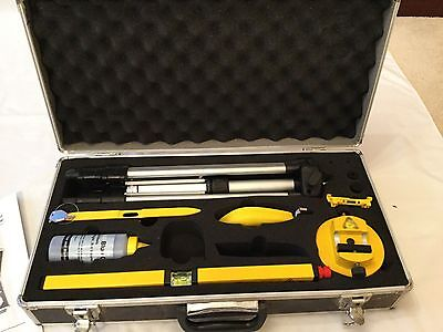 Torq Laser Level Tool Kit With Lockable Case
