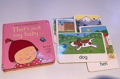 That's Not My Baby Usborne Touchy Felt Book With 5 Touchy Freely Flash Cards