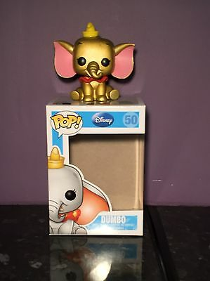 CUSTOM Funko Pop Disney Metallic Gold Dumbo #50 SSDC 2013 LE 48